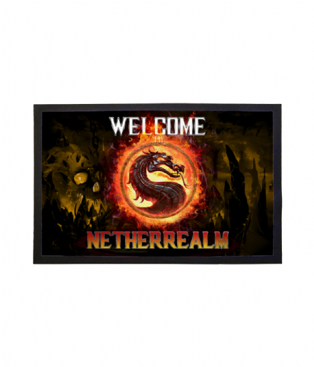 Netherrealm Doormat Printed Welcome Mat Mortal Kombat 11